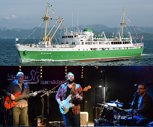 Bluescruise med Joe Rusi Band