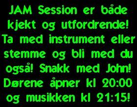 JAM Session m/John