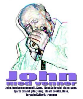 John Josefsen med venner
